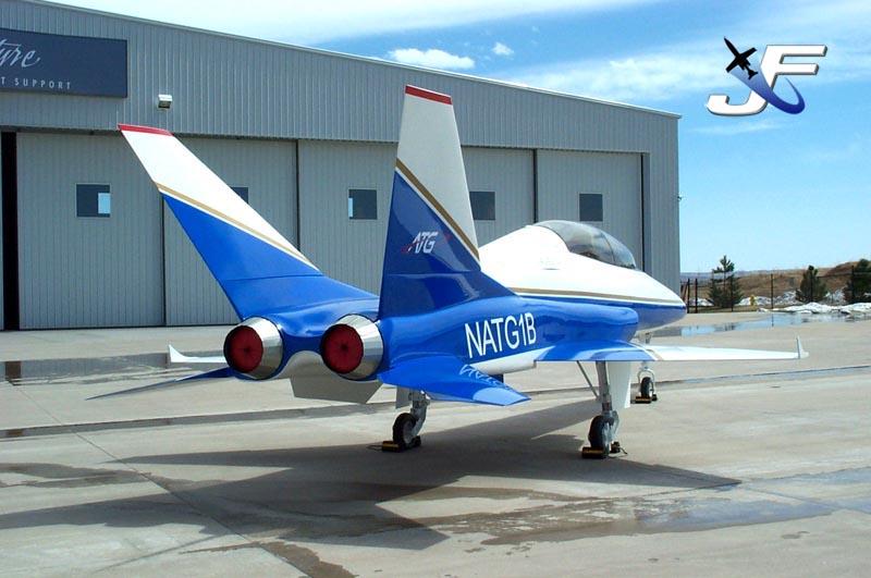 ATG Javelin Model 100 (mockup) - Aviation Technology Group ...