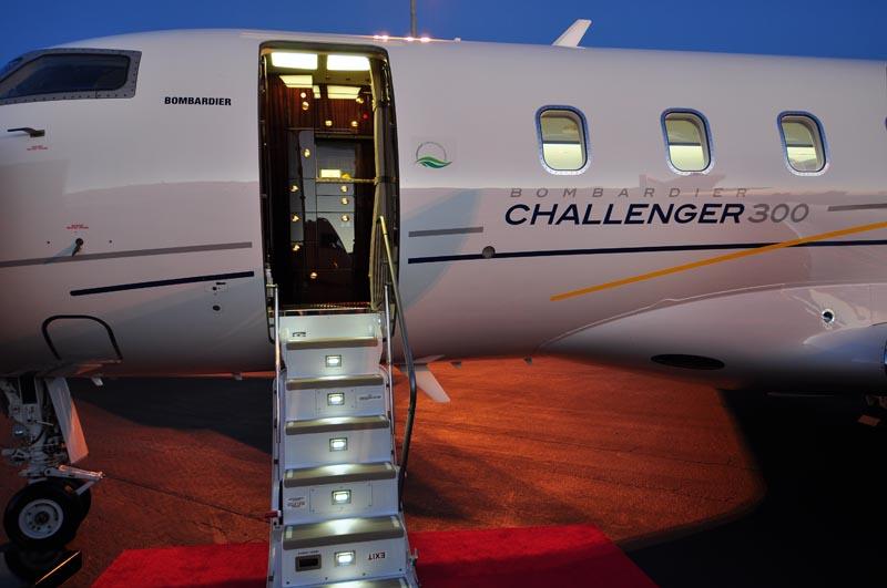 BombardierFlexjet 2012 NBAA  Jets At Night  JetForums  Jet Aviation39s