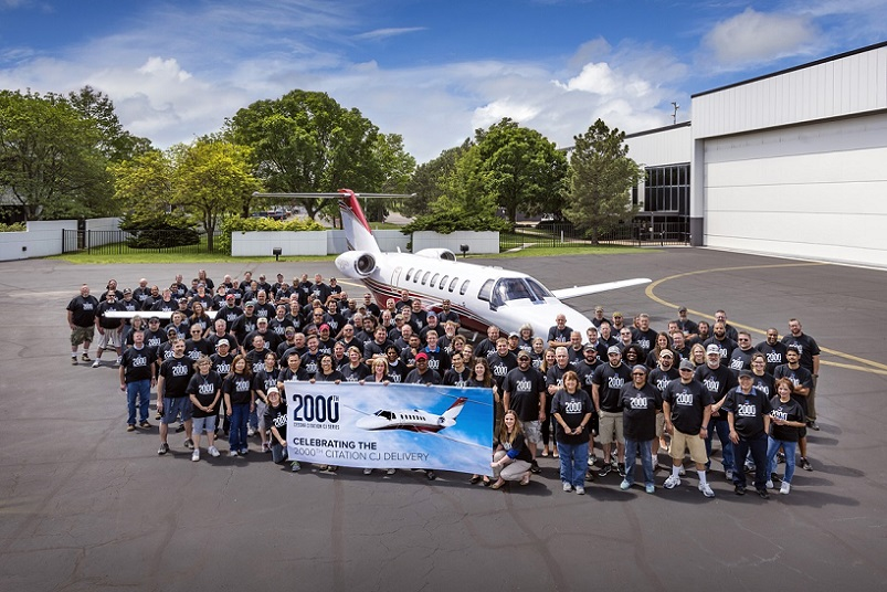 Cessna Delivers 2000th CJ Family Aircraft.jpg