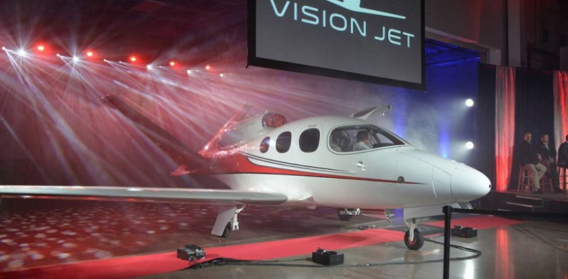 Cirrus Aircraft Delivers First Vision SF50 Jet.jpg
