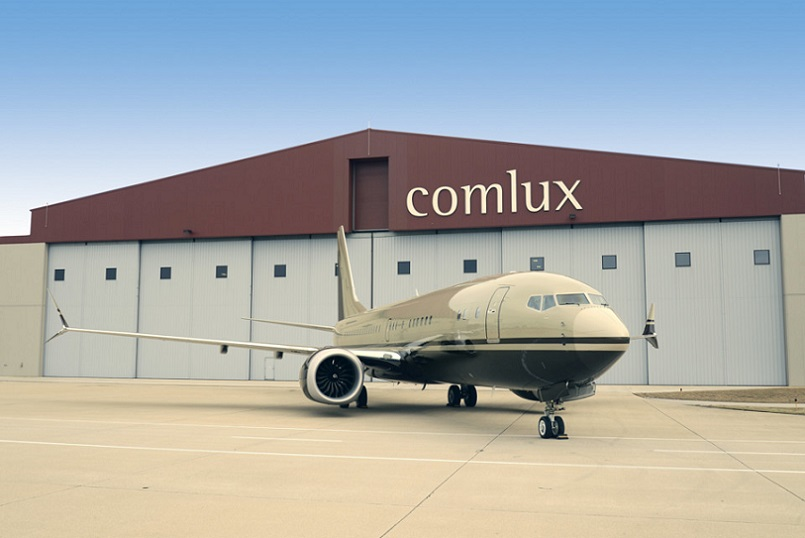 First Boeing 737 MAX 8 BBJ Arrives At Comlux (1).jpg