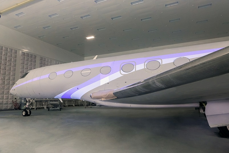 News: Gulfstream Reveals 3D-Projection Painting Process | JetForums