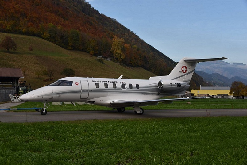 Swiss Government Takes Delivery of a Pilatus PC 24 Aircraft